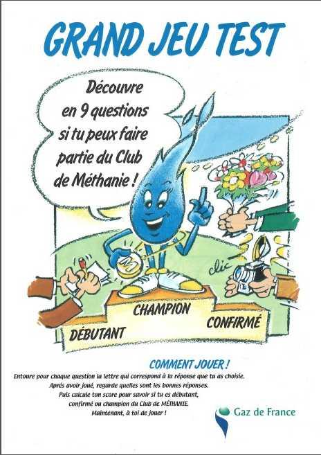 carte odorante gaz (THT, mercaptan) par Euracli